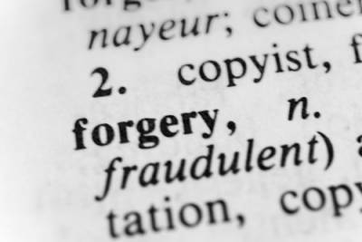 Aurora IL forgery defense attorney